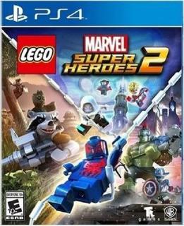 Lego Marvel Super Heroes 2 Ps4 (nuevo Y Sellado De Fabrica)