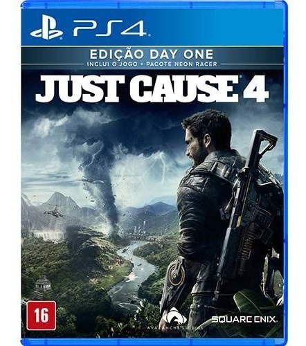 Just Cause 4 - Day One - Ps4 Mídia Física Lacrado Rcr Games