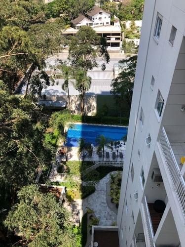 Ótimo Apartamento Duplex De 48m²  À Venda Na Vila Andrade (zona Sul) - São Paulo/sp. Com 1 Suíte E 1 Vaga De Garagem Coberta Por R$ 450.000,00. - Ap15989
