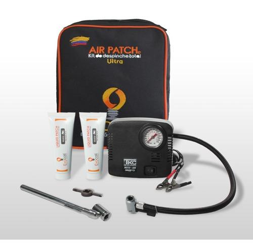 Air Patch Ultra Para Motos, Kit De Despinche Con Compresor
