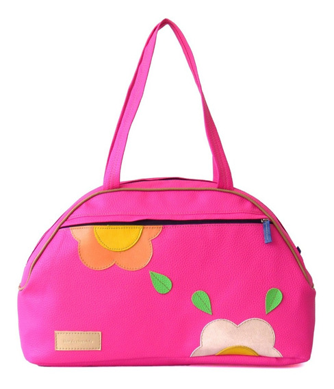 Bolsos Carteras Dama Flor De Chocolate Colore Multiuso