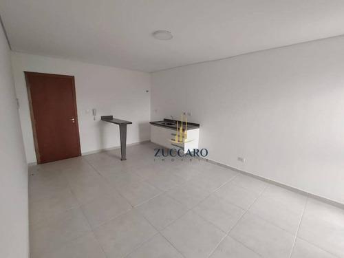 Kitnet Com 1 Dormitório Para Alugar, 26 M² Por R$ 1.040,00/mês - Parque Renato Maia - Guarulhos/sp - Kn0088