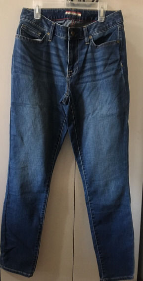 Calça Jeans Tommy Hilfinger Curve Skinny Fem 40 - Cod 373