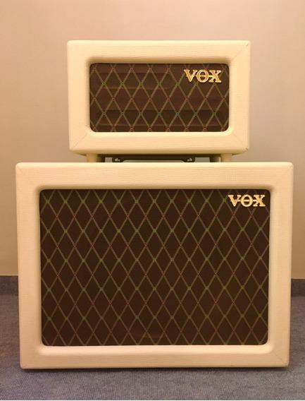 Vox Ac4 Valvular Cabezal Y Gabinete No Fender No Marshall