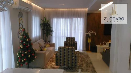 Cobertura No Condomínio Parque Clube, Vila Augusta, 3 Vagas, 3 Suites. - Co0126