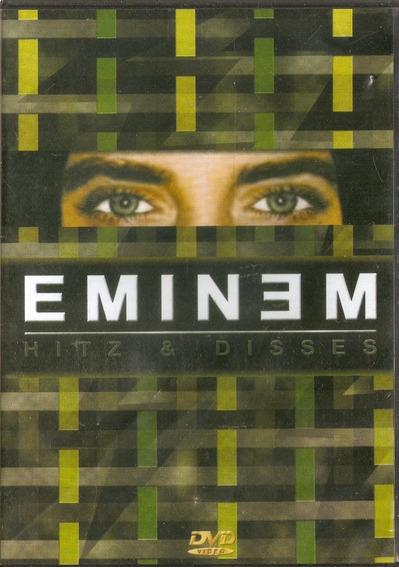 Dvd Eminem - Hitz & Disses - Semi Novo***