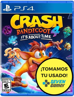 Crash Bandicoot 4 Its About Time Ps4 Juego Fisico Sevengamer