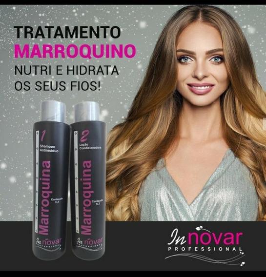 Kit Selagem Innovar Marroquina 1 Litro + Shampoo