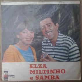 Lp Exc Elza, Miltinho E Samba 1967