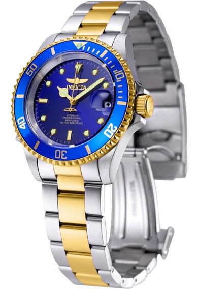 Relógio Invicta Pro Diver Automático 8928ob Original Azul