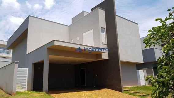 Casa Com 4 Dormitórios À Venda, 320 M² Por R$ 1.390.000,00 - Sun Lake Residence - Londrina/pr - Ca1239