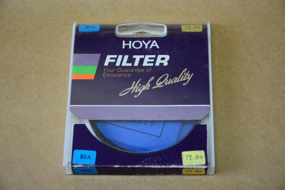 Filtro Hoya 72mm 80a - Made In Japan - Usado