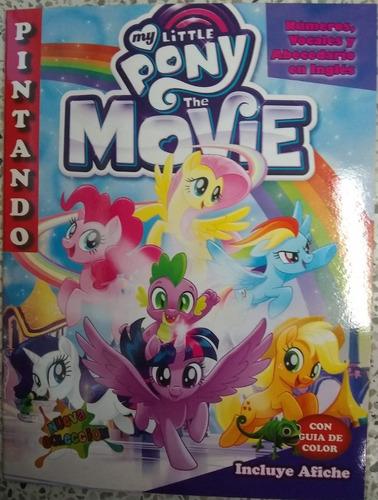 Barbie Pony 6 Libros Para Colorear Piñata Sorpresa Infantil
