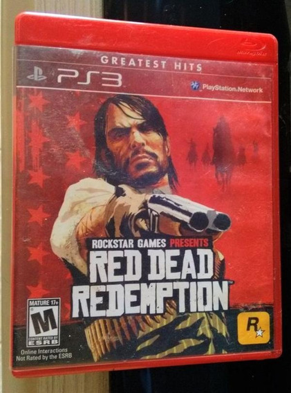 Jogo Red Dead Redemption - Original - Ps3 Mídia Física