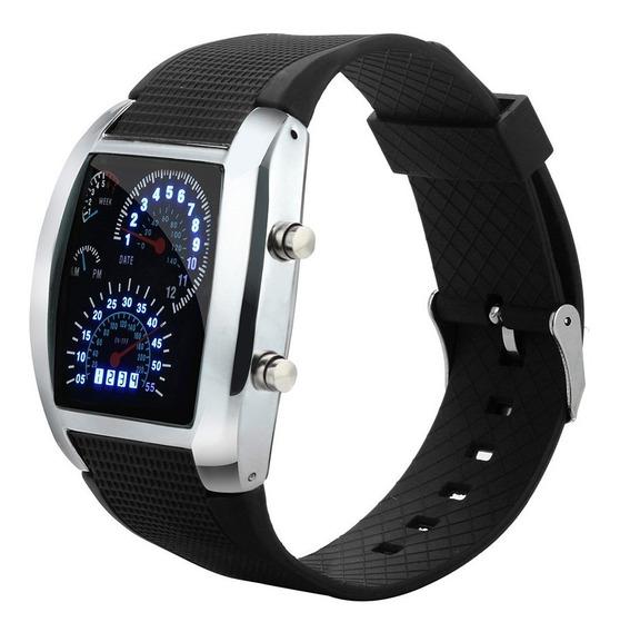 Relógio Digital F1 Rpm Velocimetro De Carro Com Temporizador