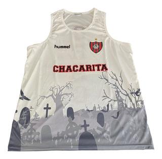 Jersey Musculosa Chacarita Juniors Hummel Original Actual