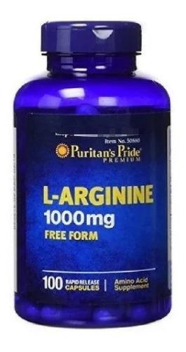 Aminoacido L Arginina 1000 Mg 100 C - Unidad a $859
