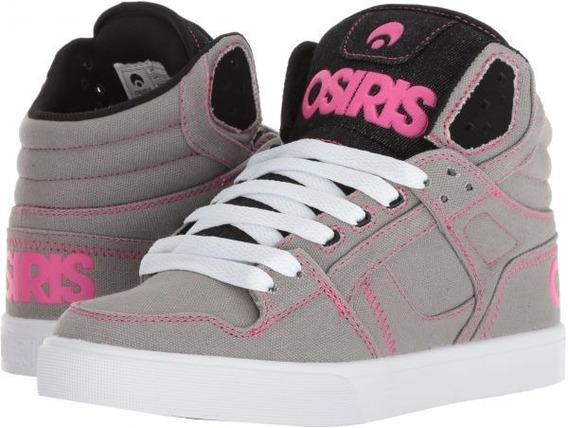 Zapatillas Osiris Clone Womens Grey Sale 30% Off