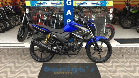 Yamaha Factor Ed 150 Ubs 2017 Azul Impecável