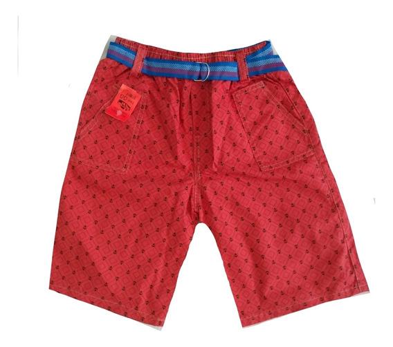 Kit C/5 Bermudas Short Brim Infantil Menino