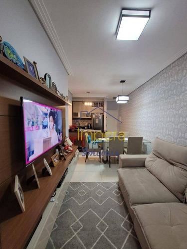 Imagem 1 de 19 de Apartamento Com 2 Dormitórios À Venda, 64 M² Por R$ 341.000,00 - Jardim Califórnia - Jacareí/sp - Ap0726