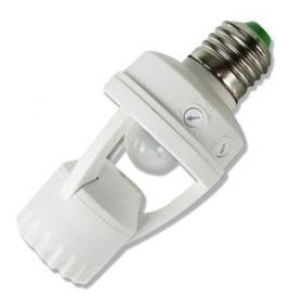 2 Soquetes Bocal Lampada Sensor Movimento Presença 360º E27
