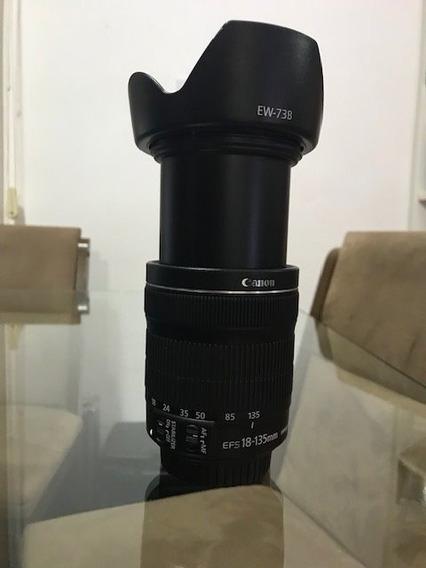 Lente Ef-s 18-135mm F/3.5-5.6 Is Stm + Parasol