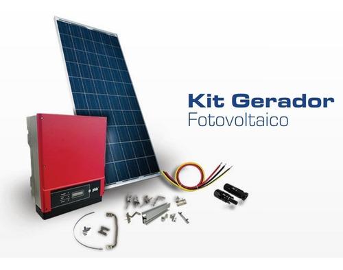 Kit Fotovoltaico - Energia Solar 0,67 Kwp - Completo Wifi