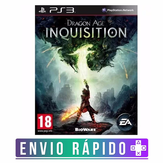 Dragon Age Inquisition Ps3 Cod Psn Envio Rápido