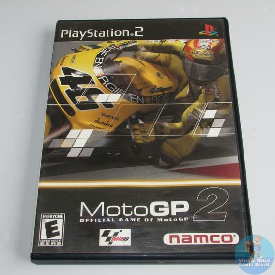 Ps2 Moto Gp 2 Original Americano Completo Excelente Confira!