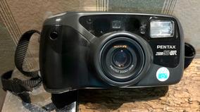 Câmera Analógica 35mm Pentax 38-90mm Af Revisada Impecável