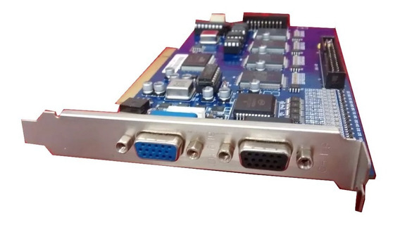 Placa Captura Cftv Pci Geovision (plx Pci6140-aa33pc G)