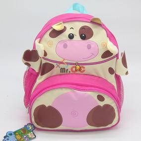 Mochila Bolsa Escolar Infantil Animais Bichinho Zoo Clio Pet