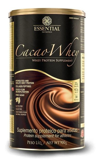 Cacao Whey (900g) Essential Nutrition