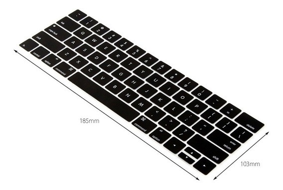 Protetor De Teclado Transparente Macbook Pro S/ Touch Bar