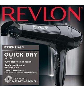 Secadora De Cabello Revlon Rv408 1875w 3 Velocidades Nuevas