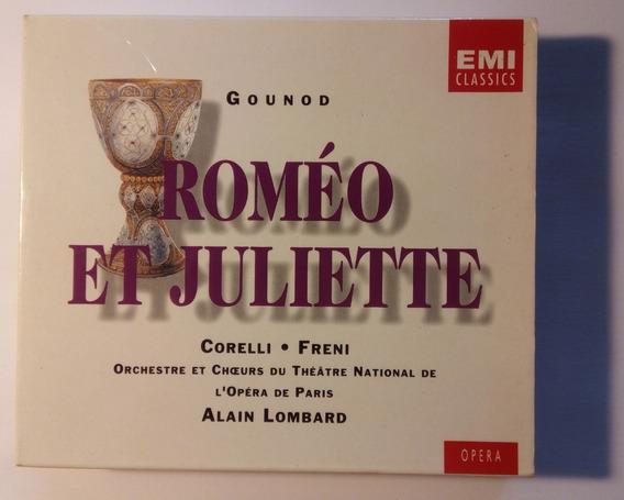 Gounod Box Imp 2cds Roméo Et Juliette 1994 Alain Lombard Emi