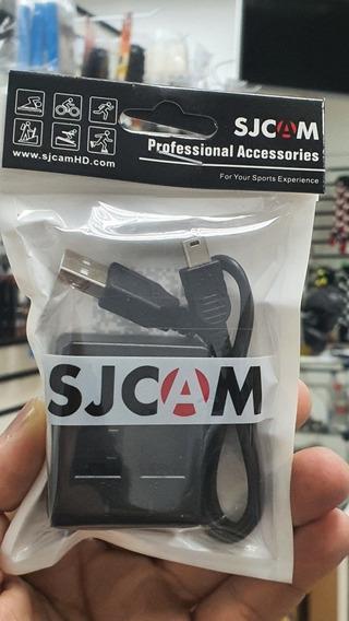 Carregador De Bateria Original Sjcam Para Sj4000 Sj5000