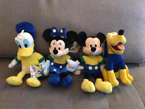 Pelúcias Disney Roupinha Brasil