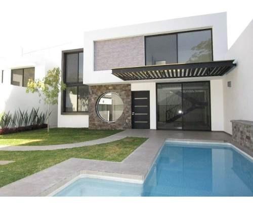 Casa Minimalista Nueva Al Norte De Cuernavaca.