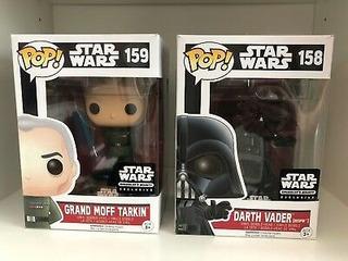 Darth Vader 158 Funko Pop Star Wars Grand Moff Tarkin 159