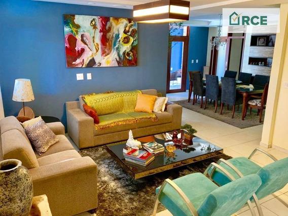 Casa Com 3 Dormitórios À Venda, 300 M² Por R$ 599.000,00 - Capim Macio - Natal/rn - Ca0126