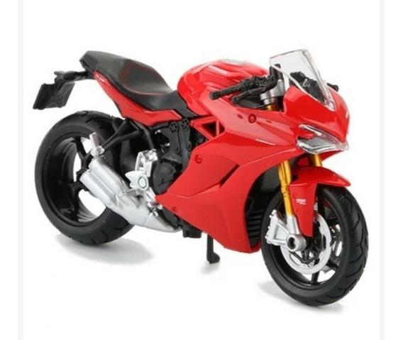 Miniatura Moto Ducati Supersport S 2017 Maisto Escala 1:18