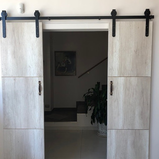 Kit Para Puerta Granero 3 Mt 2 Hojas Pedro Kramar