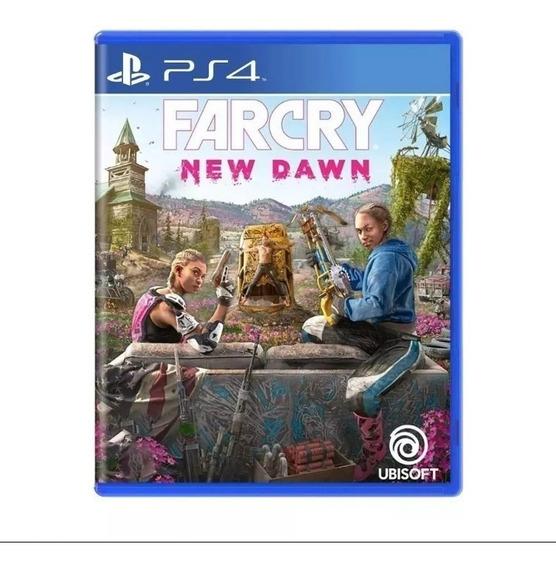 Farcry New Dawn Ps4 Lançamento Midia Fisica Original Novo