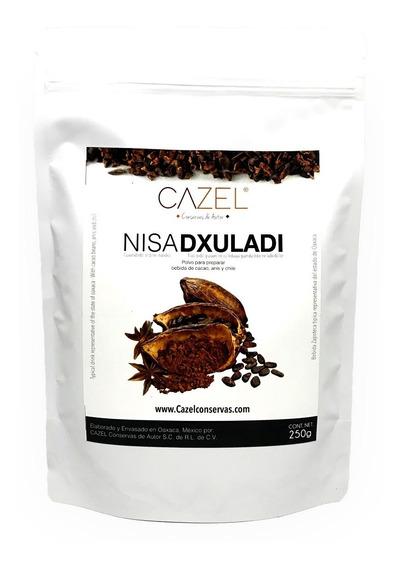 Polvo Para Bebida De Cacao Con Chile Y Anís Nisa Dxuladi Oax