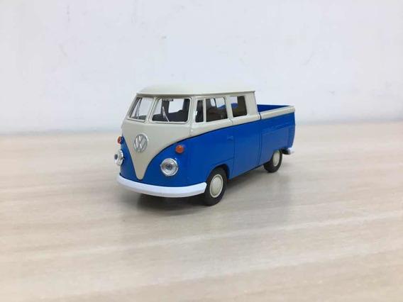 Miniatura Volkswagen Kombi Pick-up Azul 1969