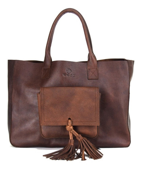 Bolso Mediano Old West Grabado