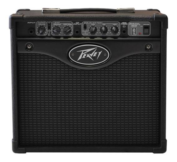 Amplificador Cubo Peavey Rage 158 Para Guitarra De 15w