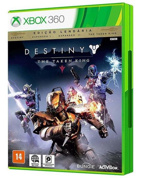 Destiny: The Taken King - Edição Lendária - Xbox 360 - Mídia Física
